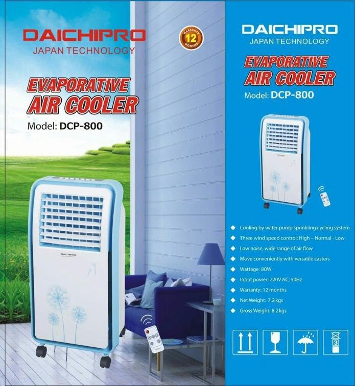 Quạt điều hòa Daichipro DCP-800 sử dụng dễ dàng, tích hợp nhiều chế độ thông minh đem lại nhiều tiện nhất