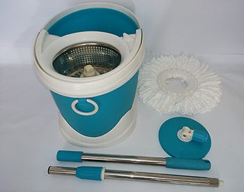 Cây lau nhà Bamboo BB - 7H86 sử dụng cán chổi inox, lòng giặt inox tăng tuổi thọ sử dụng gấp nhiều lần