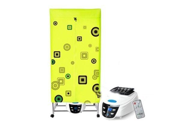 Máy sấy quần áo Shachu 2 tầng khung inox có điều khiển