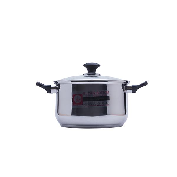 Bộ nồi Smartcook SM1496 sử dụng được cho mọi loại bếp khác nhau