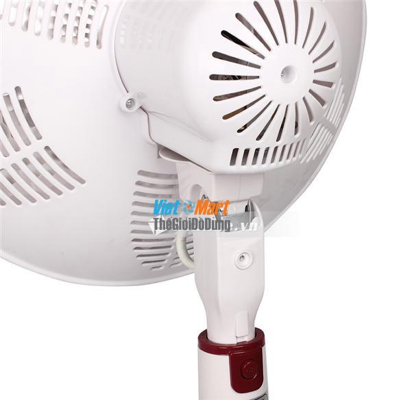 Quạt sưởi ấm Saiko HF900H sử dụng nhựa chịu nhiệt an toàn khi sử dụng