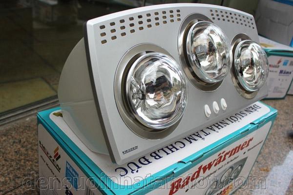 Đèn sưởi nhà tắm Heizen HE3B bóng trắng