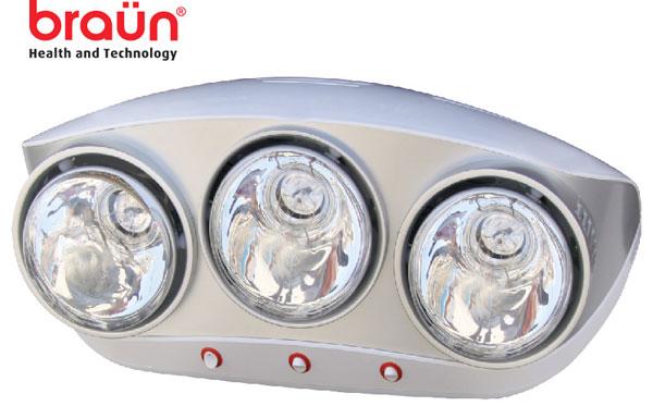 Đèn sưởi nhà tắm Braun BU03