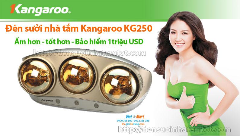 Đèn sưởi nhà tắm Kangaroo KG 250