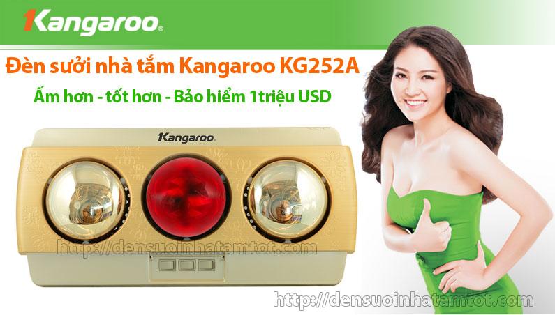 Đèn sưởi nhà tắm Kangaroo KG 252A