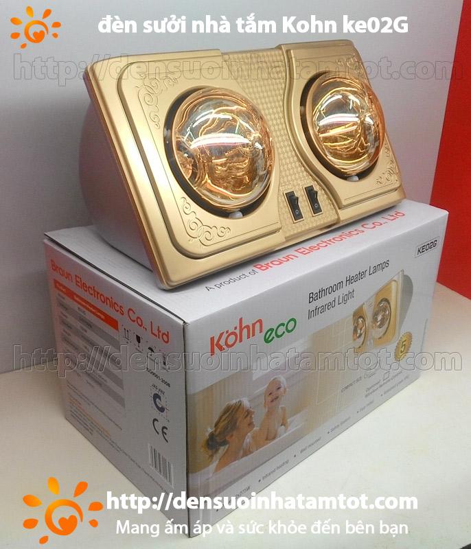 Đèn sưởi nhà tắm Kohn KE 02G