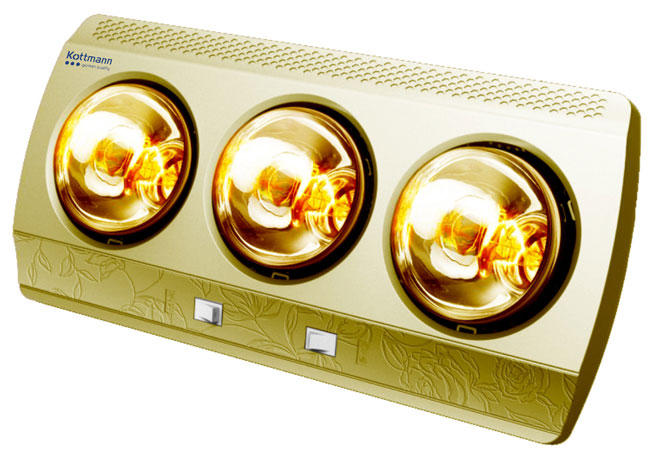 Đèn sưởi nhà tắm Kottmann K3B-G