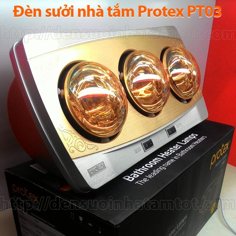 Đèn sưởi nhà tắm Protex PT03