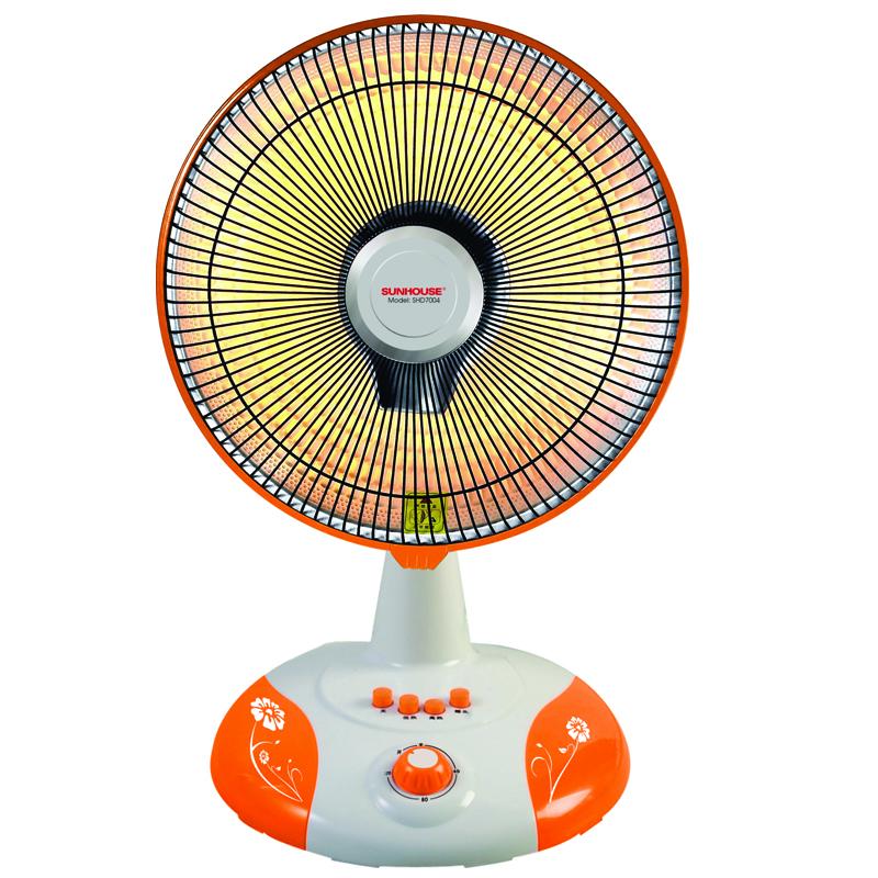 Quạt sưởi ấm Sunhouse SHD-7004 không đốt cháy oxi