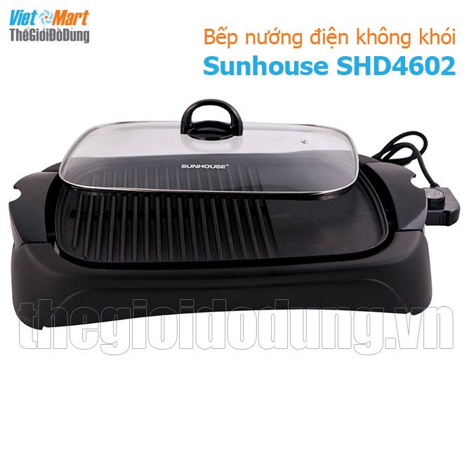 Bếp nướng điện không khói Sunhouse SHD-4602