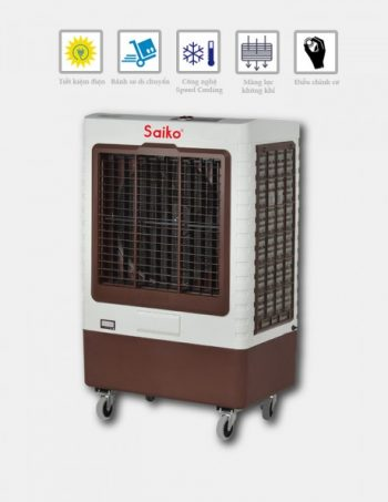 Quạt điều hòa SAIKO EC-7200C gió mát dịu như gió biển