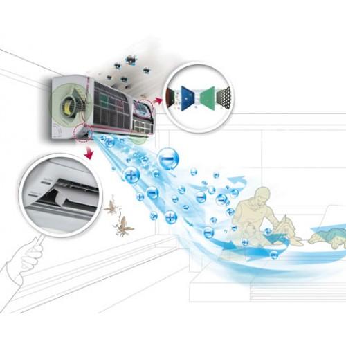 máy làm mát không khí ngăn ngừa bệnh về hô hấp