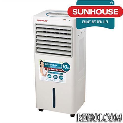 Mua quạt điều hòa không khí giá rẻ hãng nào tốt nhất: Quạt điều hòa Sunhouse