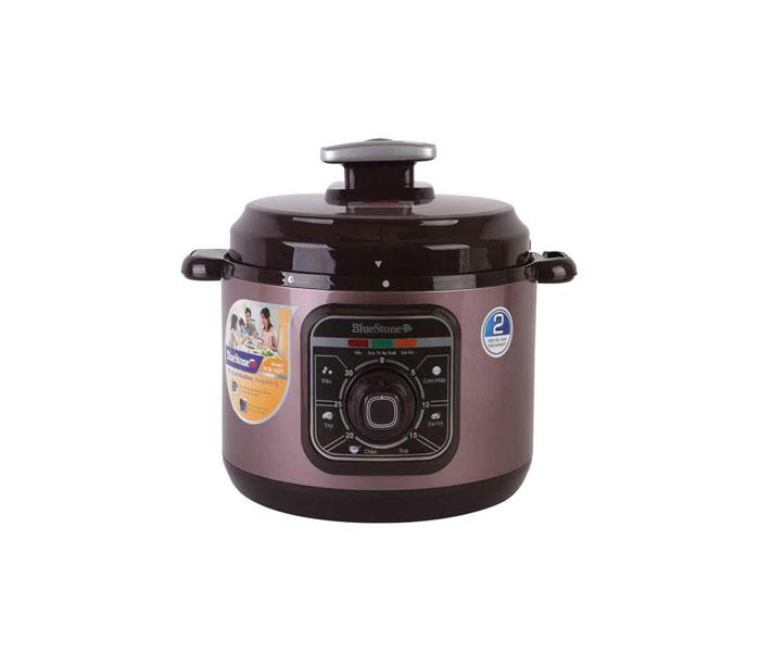 Nồi áp suất điện đa năng BlueStone PCB 5629 chất lượng cao, đa chức năng nấu, dung tích 5L, lòng nồi hợp kim nhôm phủ chống dính Ceramic an toàn.