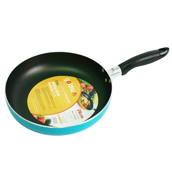Chảo chống dính Goldsun GC426IH dùng được trên tất cả các loại bếp