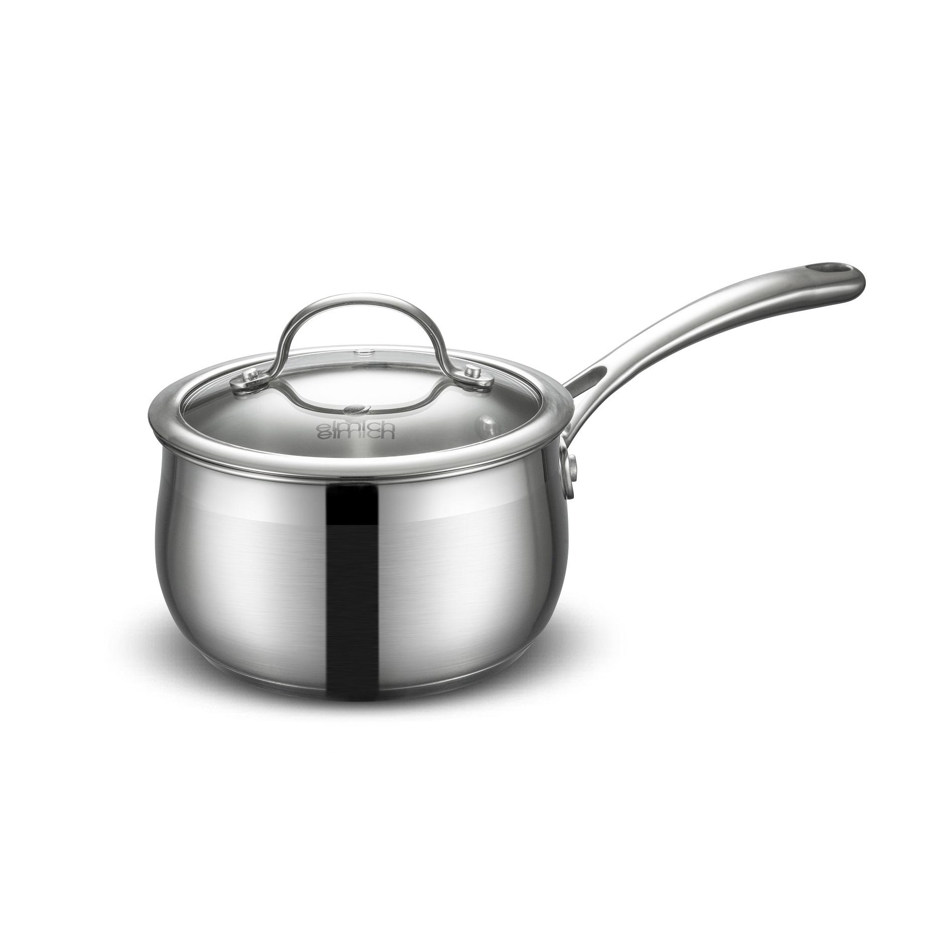 Bộ nồi chảo inox Elmich Diva EL-3246 dùng được cho tất cả các loại bếp