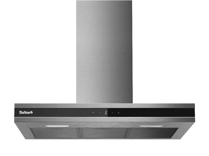 Máy hút khử mùi bếp BlueStone HOB-8748 dạng thẳng ngang, cảm ứng chất lượng tốt