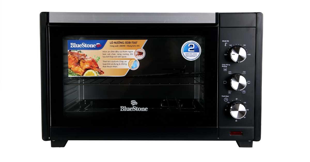 Lò nướng điện BlueStone EOB-7567 dạng chữ nhật 45L loại tốt