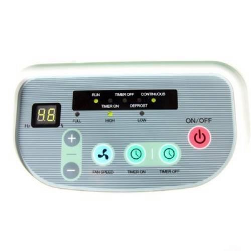 bảng điều khiển của máy có hiển thị đèn LED dễ dàng quan sát và sử  dụng