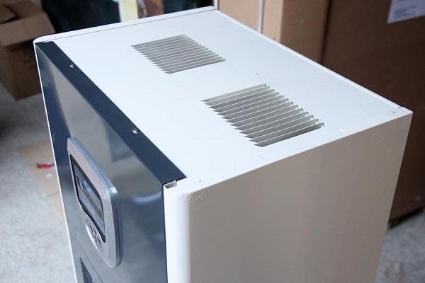 Bảng điều khiển điện tử của máy hút ẩm Fujie HM-1800DN
