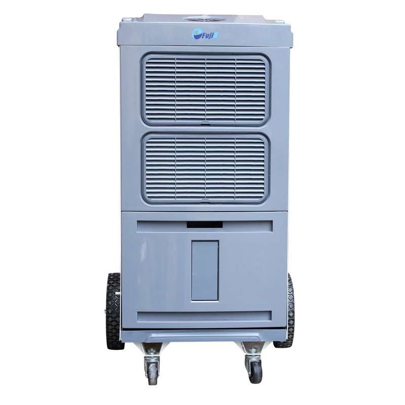 Máy có cấu tạo gồm 2 dàn: nóng và lạnh