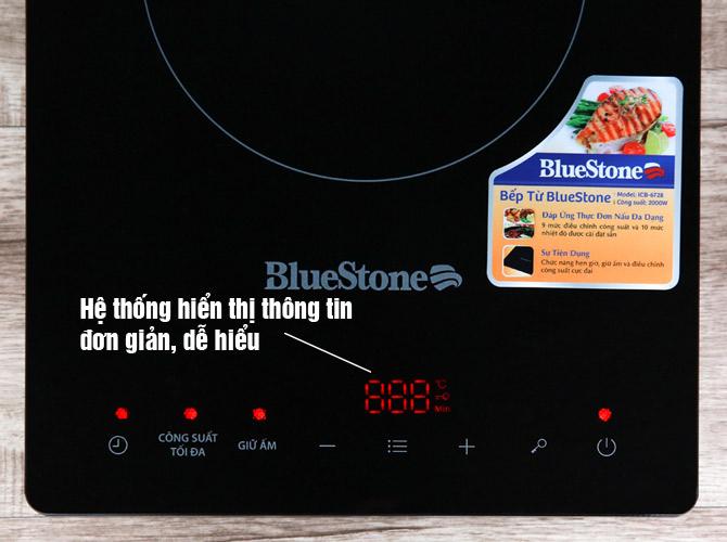 Hiển thị thông tin của Bếp từ đơn Bluestone ICB-6728