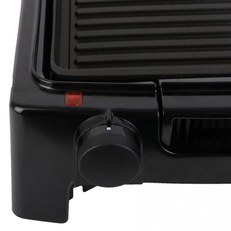 Bếp nướng điện Goldsun có 5 nút điều chỉnh nhiệt
