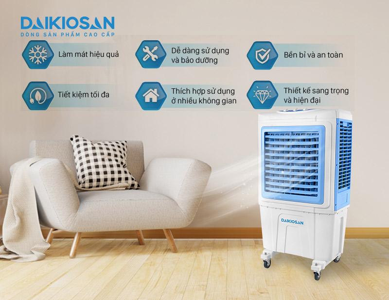 Tính năng máy làm mát không khí DaikioSan DKA-05000A