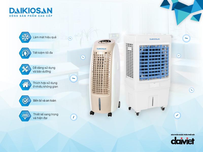 Ưu điểm của máy làm mát không khí DaikioSan DKA-05000C