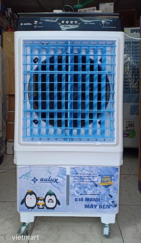Máy làm mát không khí Aulux HA-5500L trước mặt