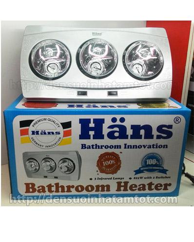 Đèn sưởi nhà tắm Hans H3B