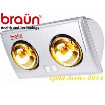 Đèn sưởi nhà tắm Braun BU02GĐèn sưởi nhà tắm Braun BU02G