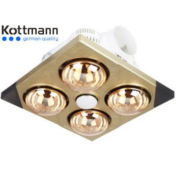 Đèn sưởi nhà tắm âm trần Kottmann K4B-T