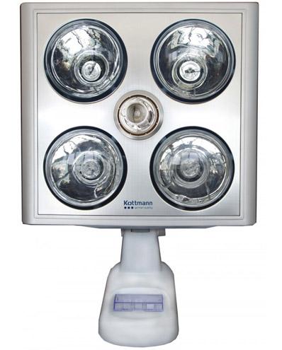 Đèn sưởi nhà tắm Kottmann K4B-SĐèn sưởi nhà tắm Kottmann K4B-S