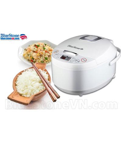 Nồi cơm điện tử BueStone RCB 5925W đa năng, chất lượng cao, nấu cơm ngon.