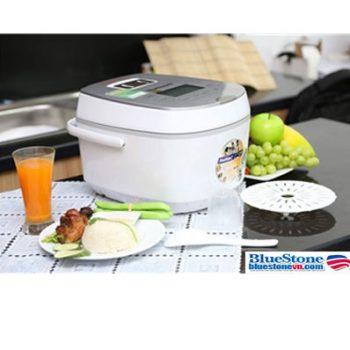 Nồi cơm điện tử BlueStone RCB 5985S đa năng, chất lượng cao, nấu cơm ngon.