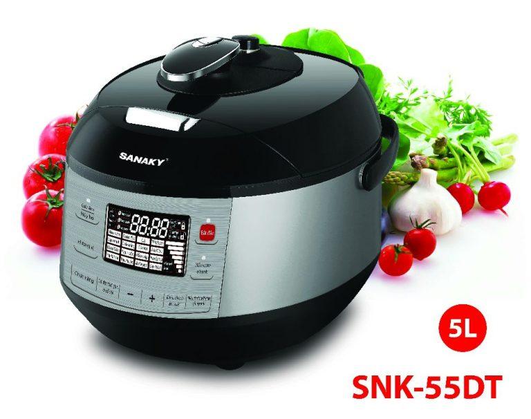 Nồi áp suất điện đa năng Sanaky SNK-55DT